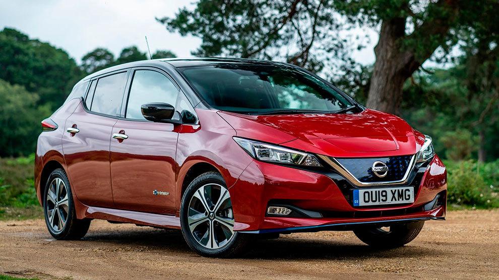 Nissan Leaf, un modelo 100% eléctrico.