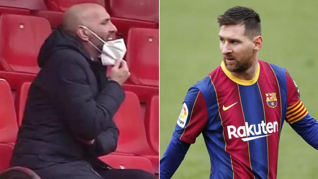 Fuerte encontronazo tras el Barça-Sevilla