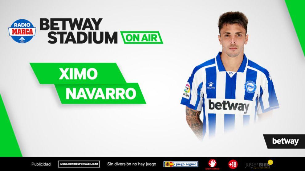 Ximo Navarro jugador del Alavés