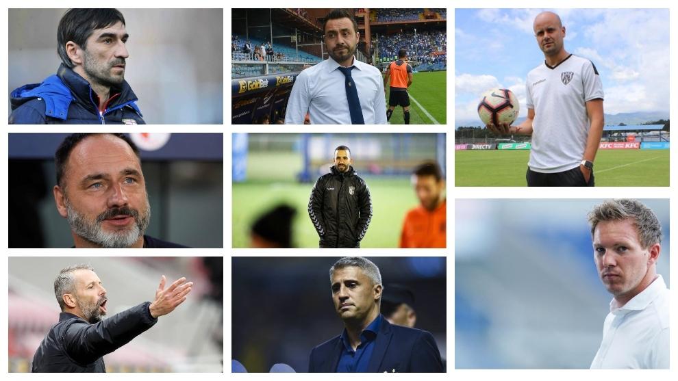 Maldini elige a los entrenadores más jóvenes y desconocidos.