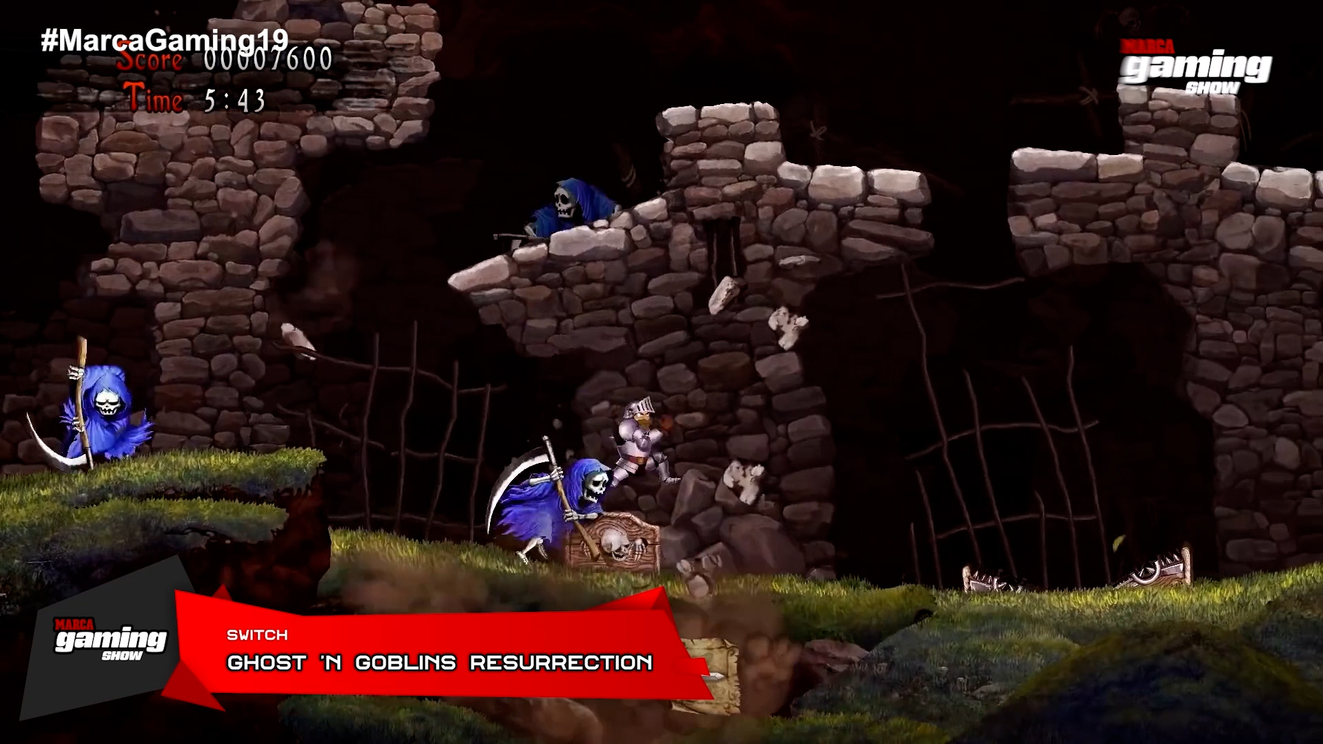 Ghost'n Goblins Resurrection (SWITCH)