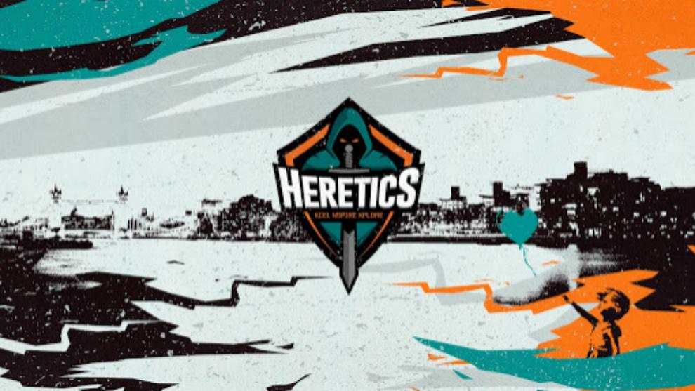 El logo de Team Heretics
