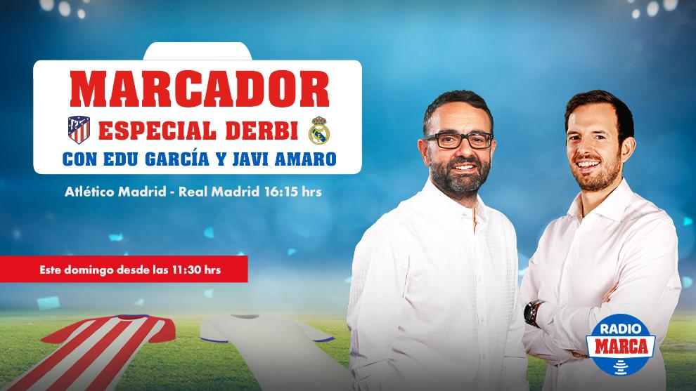 Especial Radio MARCA del derbi madrileño desde las 11.30 horas