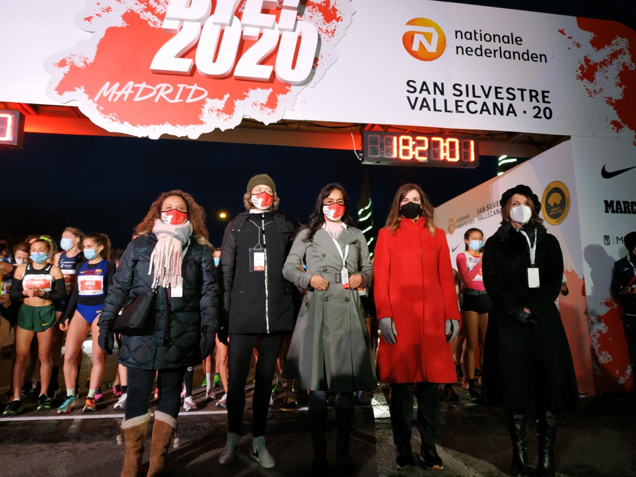 Salida de la San Silvestre Vallecana 2020