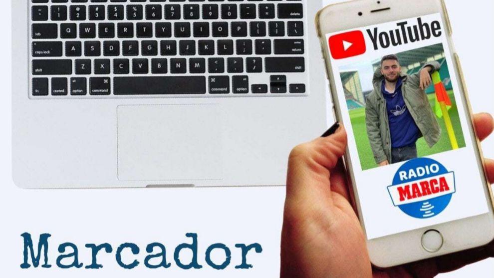 Montaje Radio MARCA de Rafael Escrig, youtuber en Radio MARCA