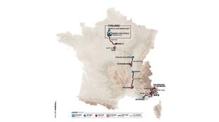 Etapas, perfil y recorrido de París - Niza