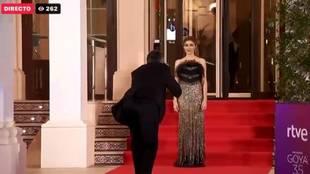 Alfombra roja de los Premios Goya 2021