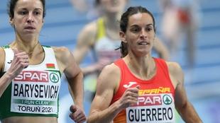 Marta Pérez, cuarta en 1.500, tras la recalificación de la británica Archer