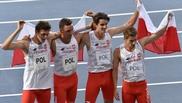 Los atletas del 4x400 de Polonia, positivos por COVID, no correrán la final