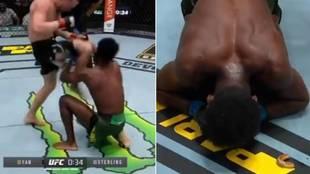 El salvaje rodillazo que supuso una descalificación única: perdió el título, la reacción de su rival...