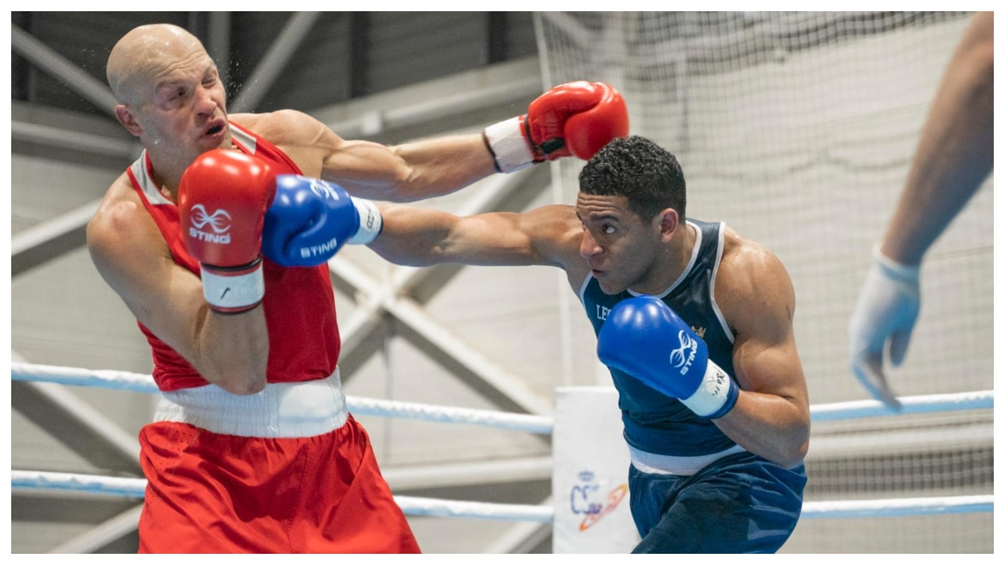 Ayoub Ghadfa Drissi, campeón del Boxam Internacional 2021.