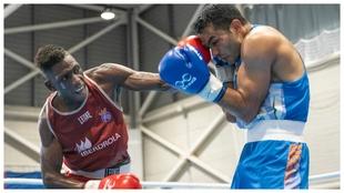 Youba Sissokho, campeón en el Boxam Internacional 2021.