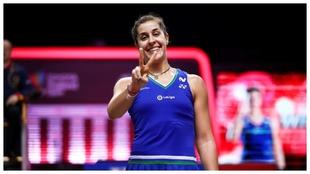 Carolina Marin gana el Abierto de Suiza.