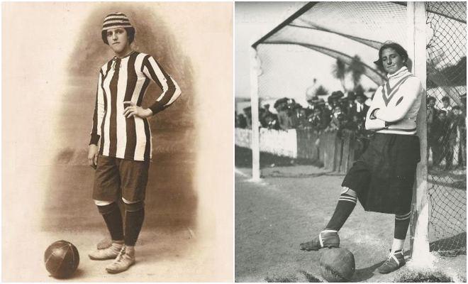 Las pioneras Ana Carmona e Irene González.