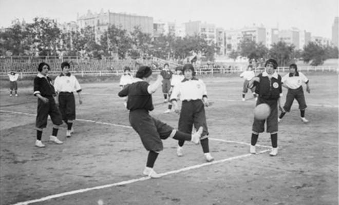 Partido entre MOntserrat y Giralda en 1914.