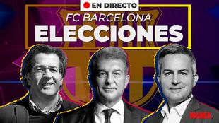 Elecciones barça presidente fc barcelona joan laporta tony victor...