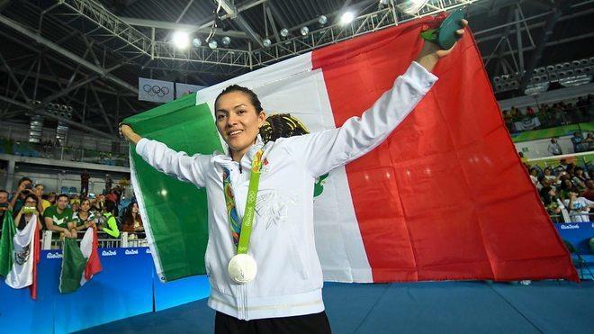 María Espinoza consiguió la plata en Rio 2016