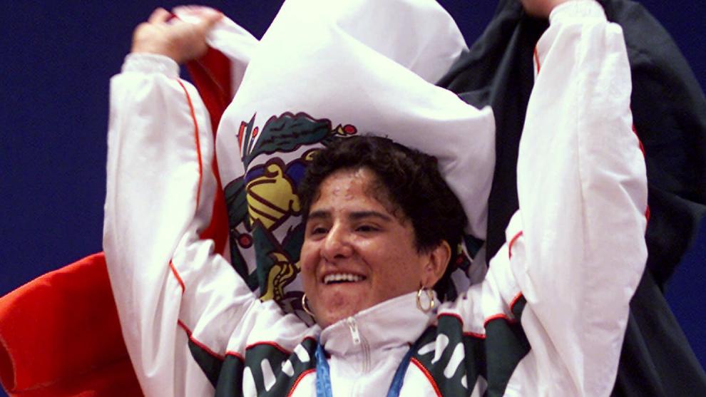 Soraya Jiménez, primera mexicana en ganar un oro olímpico