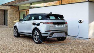 El Range Rover Evoque PHEV.
