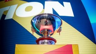 El trofeo del Eurobasket Femenino.