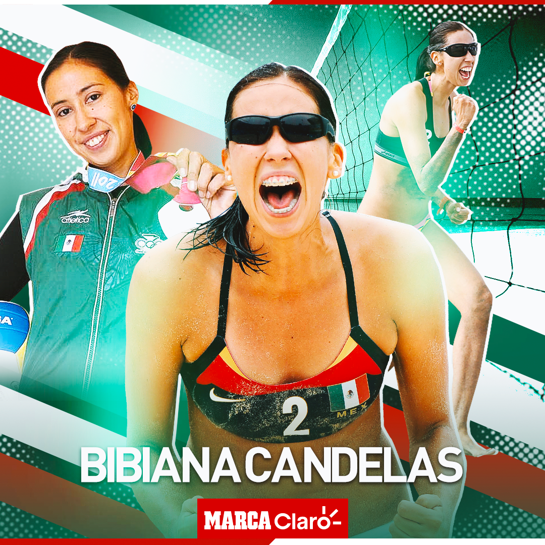 Bibiana Candelas, exvoleibolista mexicana