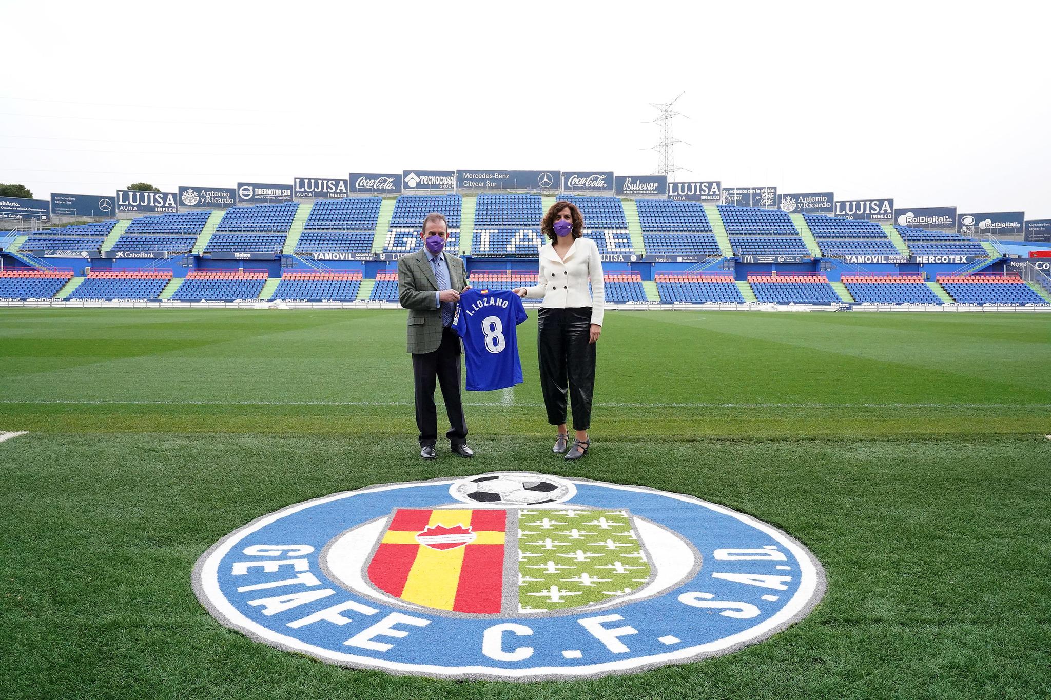 Ángel Torres e Irene Lozano.