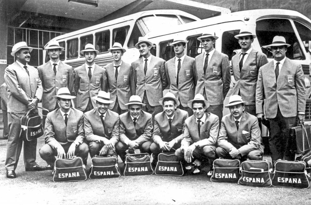 Selección masculina de baloncesto. Roma 1960
