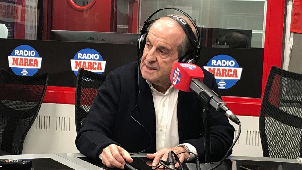 José María García, en Radio MARCA.