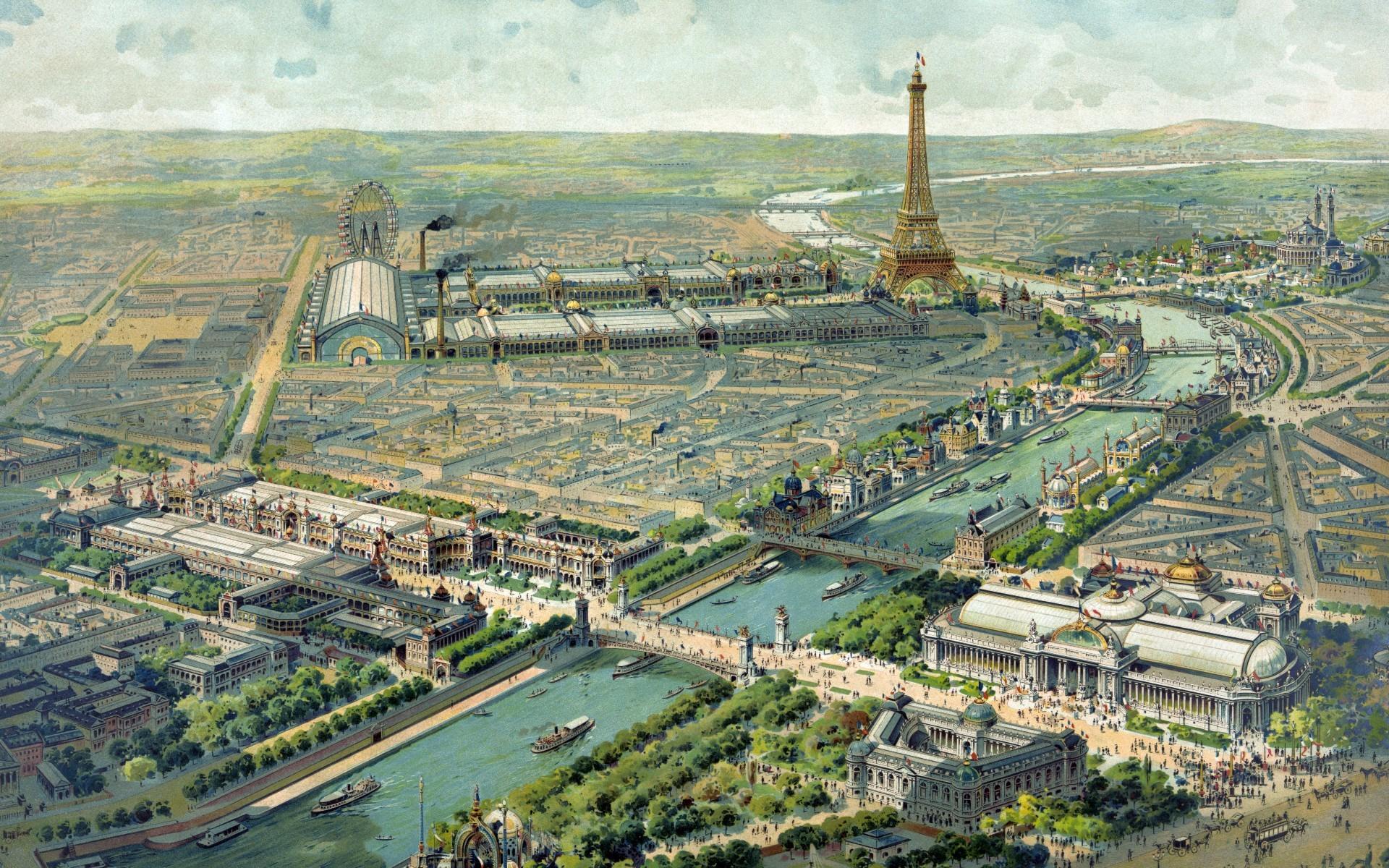 Imagen de la Exposición Universal de París 1900