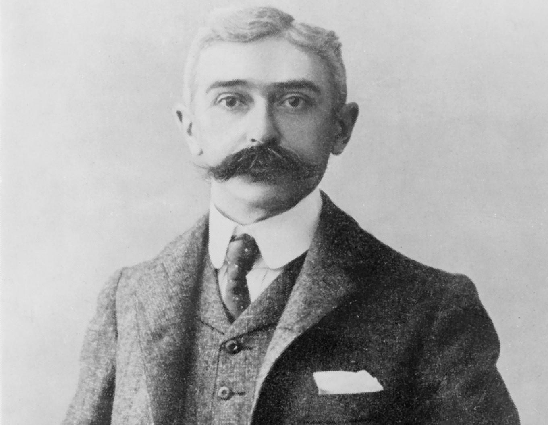 Pierre de Coubertin, en los primeros tiempos olímpicos