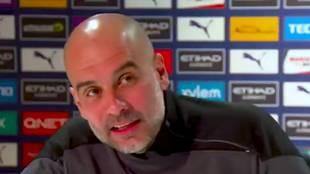 """Guardiola, indignado como pocas veces se le ha visto: """"No, 18 les vamos a meter"""""""