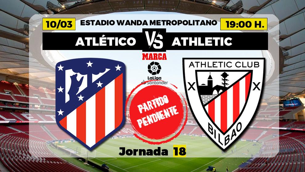 Atlético-Athletic: juega Joao Félix y Marcelino recupera el plan A