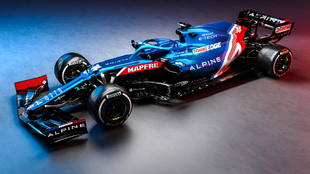 El A521 de Fernando Alonso.