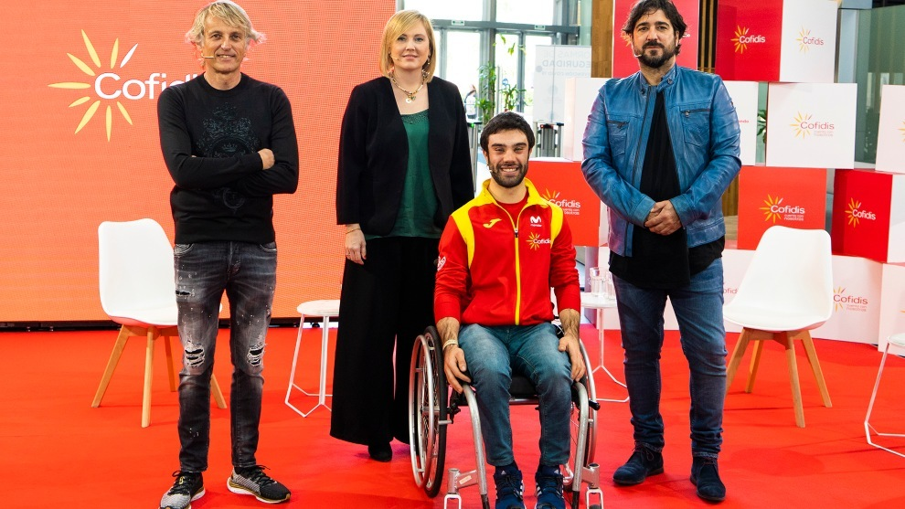 Jesús Calleja, Anna Golsa, Gonzalo García Abella y Antonio Orozco.