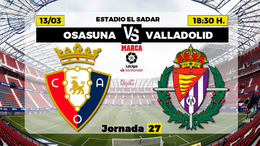Sigue el Osasuna-Valladolid