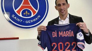 Oficial: Di María renueva con el PSG