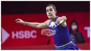 Carolina Marín en el Thailand Open este año.