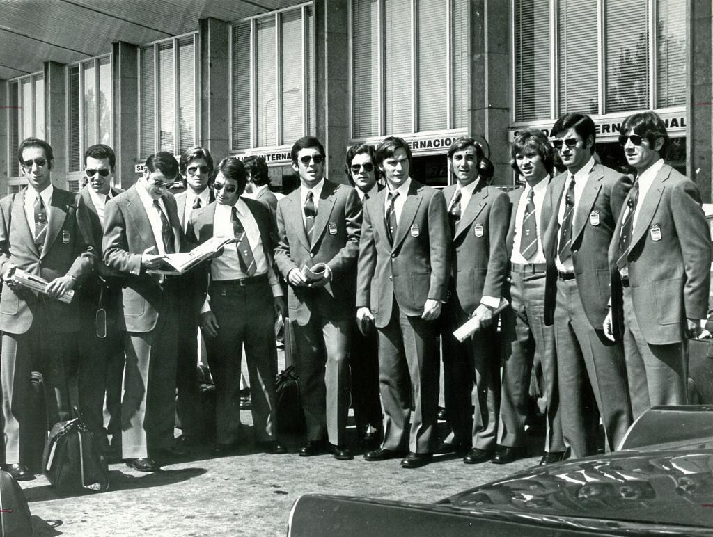 Selección española de balonmano. Munich 72