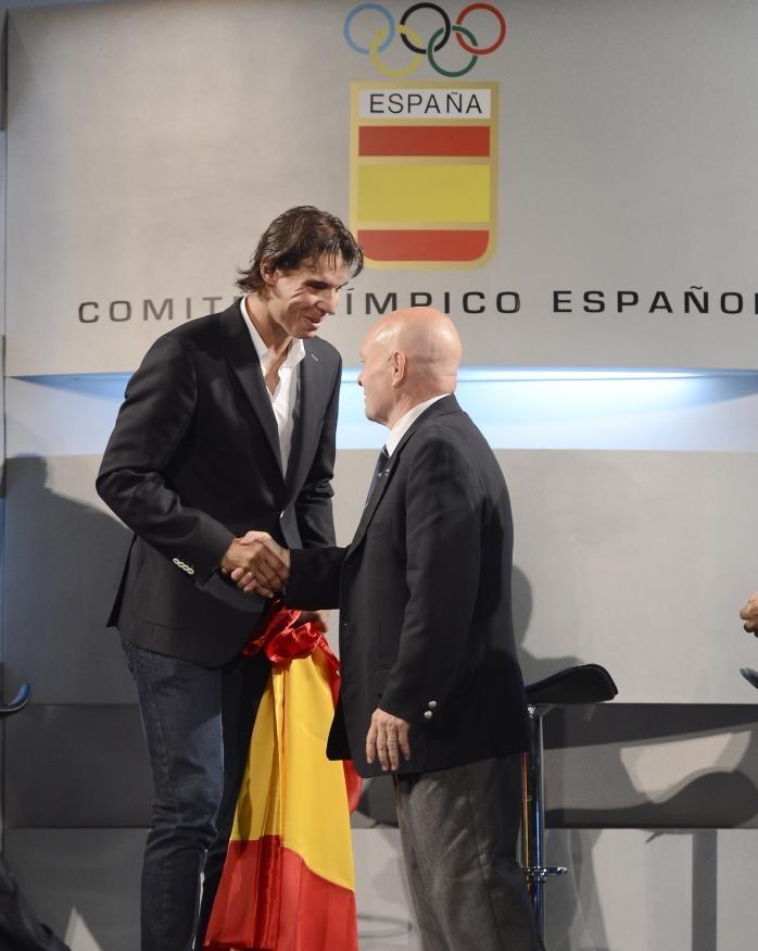 Rafael Nadal y Rodríguez Cal. De abanderado, a abanderado