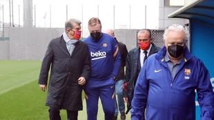 Koeman Laporta Klopp Garcia Pimienta Xavi Messi