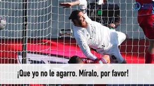 """Ramos, a Figueroa Vázquez: """"No me parte el brazo de milagro... me quedo aquí porque lo voy a tirar"""""""