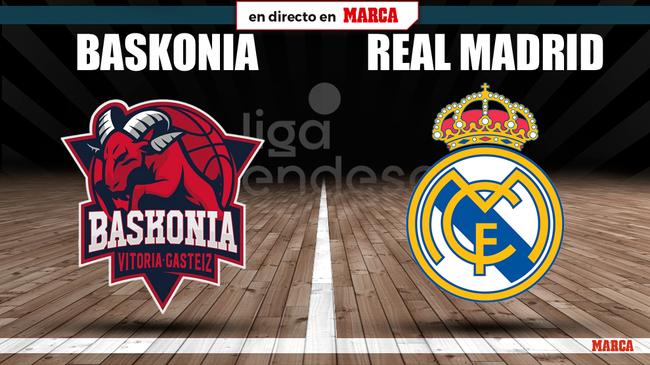 Baskonia-Real Madrid, en directo
