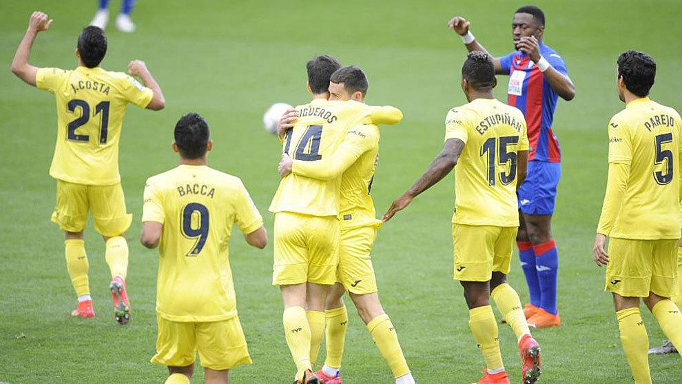 El Villarreal gana desde el primer minuto