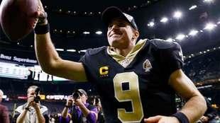 Brees de los Saints de New Orleans se va de la NFL.