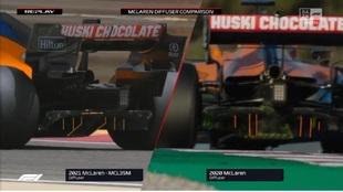"""McLaren habla de su truco: """"Nos sorprende ser los únicos"""""""