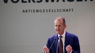Herbert Diess, presidente del Grupo Volkswagen.