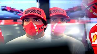 Ferrari, encantado con Sainz