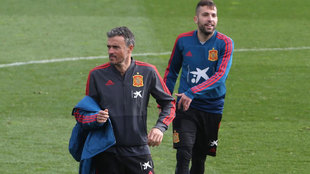 """""""Conocerse mucho tienes cosas buenas y malas. Y a Jordi Alba lo conozco mucho"""""""