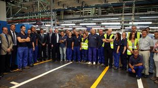 Trabajadores de Ford Almussafes.