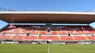 Panorámica del U-Power Stadium de Monza.
